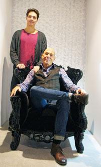 Oscar och Tony på Ideas. Foto: Mårten Gullstrand