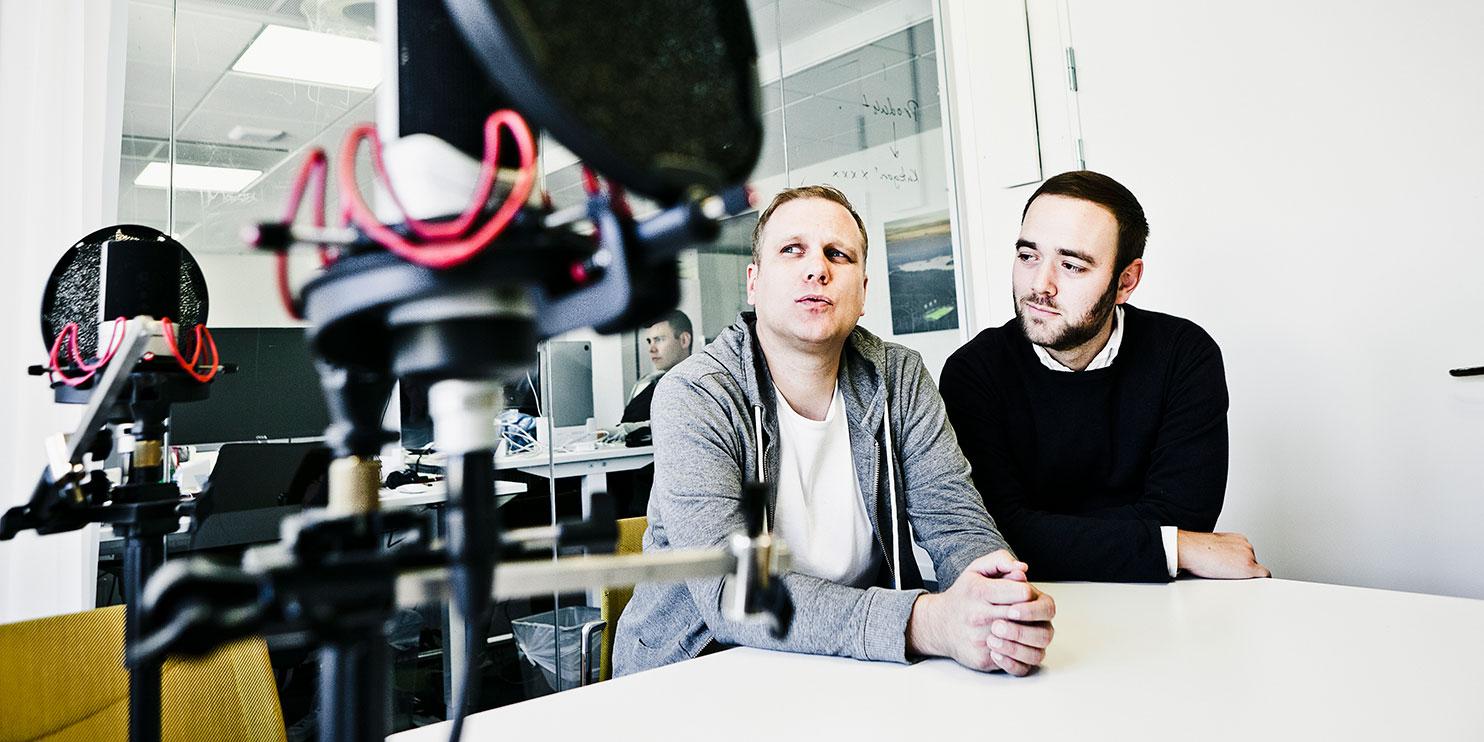 Sedan de lanserade Breakit har varken Stefan Lundell eller Olle Aronsson längtat tillbaka till sina tidigare jobb på Dagens industri.